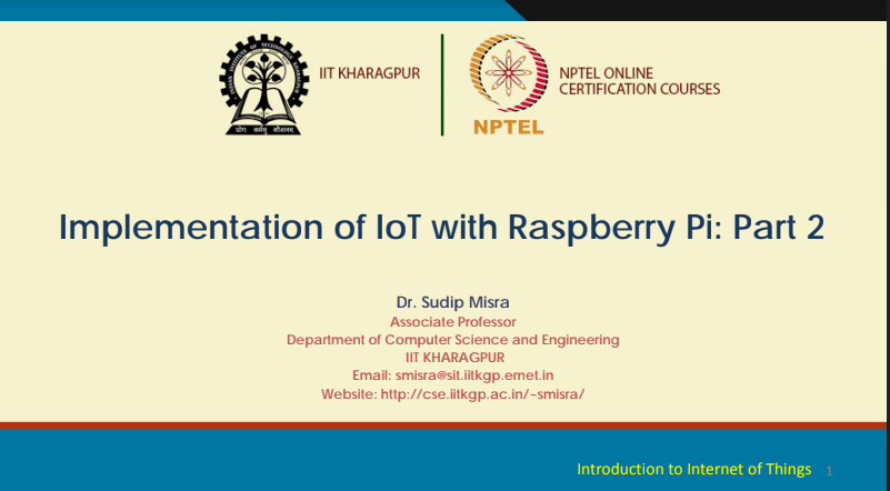 Attachment for Knowledge 'Nptel IOT lectures Week 7' - Week
